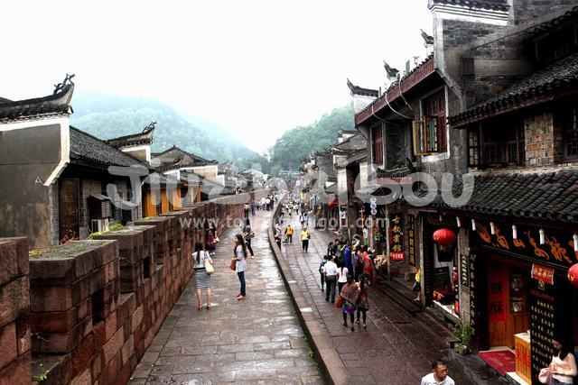 Street of Fenghuang Ancient City