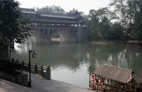 River in Jiezi Ancient Town