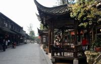 Street corner of Jiezi Ancient Town