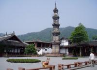 Pagoda in Jiezi Ancient Town