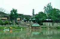 Jiezi Ancient Town riverside