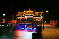 Jiezi Ancient Town night view