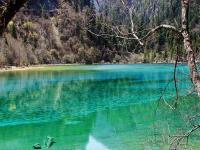 Jiuzhaigou in April