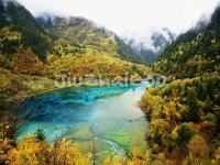 Jiuzhaigou October Landscape