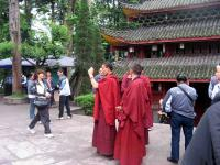 Wannian Temple in Mount Emei