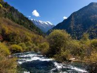Mountains and Mountain Ranges of Jiuzhaigou National Park