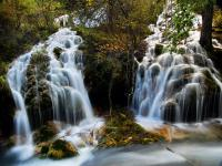 Pearl Shoal Waterfall Jiuzhaigou Valley