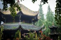 Building in Qingyang Taoist Temple