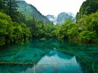 Jiuzhaigou National Park in Spring
