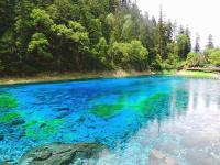 Jiuzhaigou in Summer