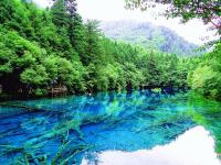 Summer in Jiuzhaigou Valley National Park