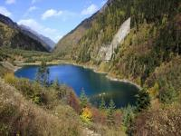 Upper Seasonal Lake in Jiuzhaigou