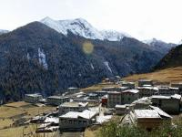 Yading Village in Yading Nature Reserve