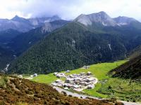 Yading Village in Daocheng